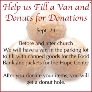 donuts for donations